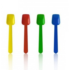 Plastic Ice Cream Spoon 9cm (10.000 Units)