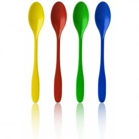 Plastic Ice Cream Spoon Pack 17,5cm (2.000 Units)