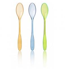 Plastic Ice Cream Spoon Pack 17,5cm (250 Units)