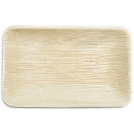 Palm Leaf Tray Rectangular Shape 25x16x3cm (25 Units)