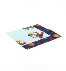 Paper Napkin Clown Design 33x33cm (500 Units)