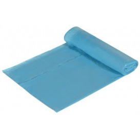 Trash Bag Blue Easy Closure 55x55cm (15 Units)