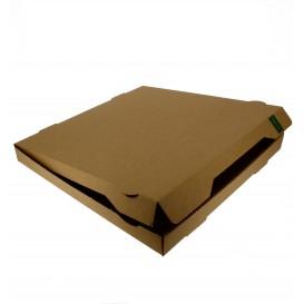 Corrugated Box Kraft 33x33x3,5cm (100 Units)