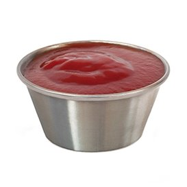 Sauce Cup Stainless 90ml (12 Units)