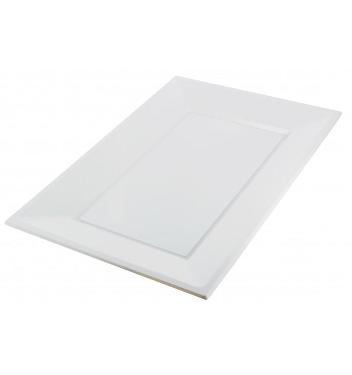 Plastic Tray White 33x22,5cm (180 Units)
