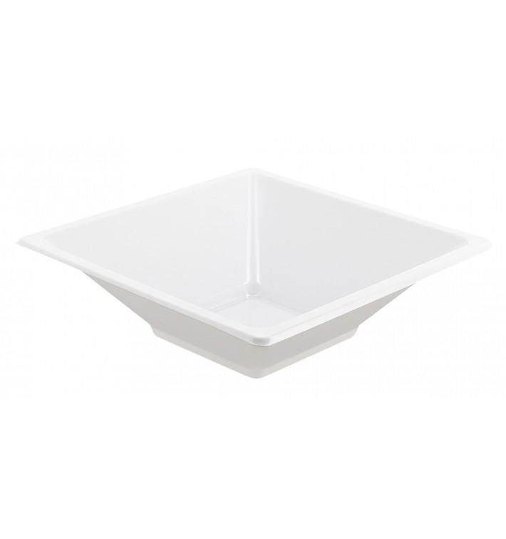 Plastic Bowl PS Square shape White 12x12cm (720 Units)