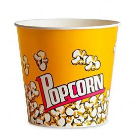 Paper Popcorn Box 1380ml 12,4x9x17cm (500 Units)