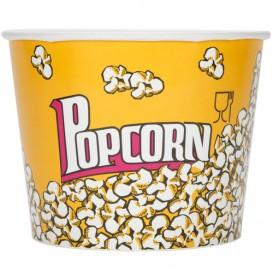 Paper Popcorn Box 5400ml 22,5x16x21cm (150 Units)