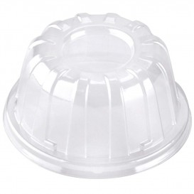 Plastic Dome Lid Clear 11x6cm (100 Units)