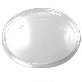Plastic Flat Lid Clear Ø11cm (1000 Units)