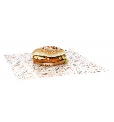 "Paper Food Wrap Grease-Proof ""Hostel"" 28x33cm (1000 Units)"