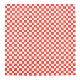 Paper Food Wrap Grease-Proof Red 31x38cm (1000 Units)