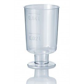 Plastic Stemmed Glass Liquor 40ml (20 Units)