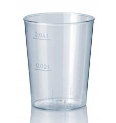 Vaso Inyectado Transparente PS 40 ml (50 Uds)