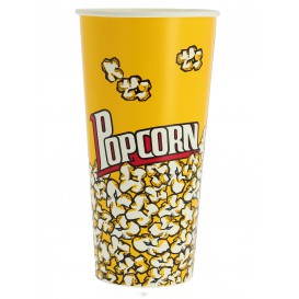 Paper Popcorn Box 720ml 9,6x6,5x17,7cm (50 Units)