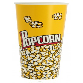 Paper Popcorn Box 960ml 11,4x8,9x14cm (500 Units)