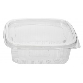 Plastic Hinged Deli Container PET 2000ml (280 Units)