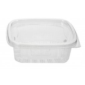 Plastic Hinged Deli Container PET 1000ml (80 Units)