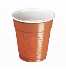 Plastic Cup PS Vending Two Tones 166ml Ø7,0cm (100 Units)