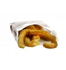 Paper Food Bag for Churros Grease-Proof 18+7x32cm