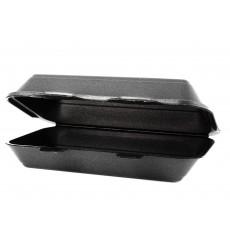 Foam Baguette Container Black 2,40x1,55x0,70cm (125 Units)