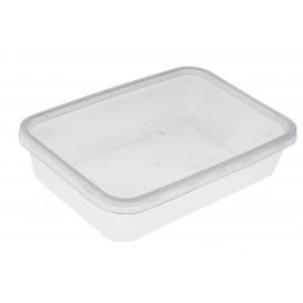 Plastic Deli Container PP Rectangular Shape 500 ml (500 Units)