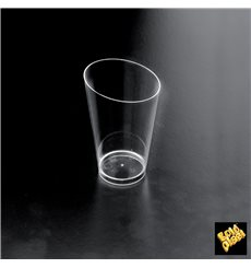 Plastic Tasting Cup PS Cone Shape High Clear 70 ml (25 Units)