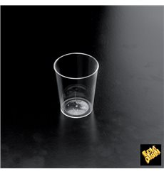 "Plastic Cup PS ""Conical"" Clear 50 ml (500 Units)"