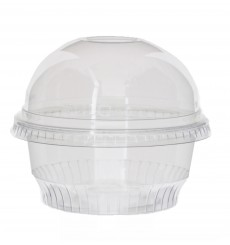 Plastic Container PET Crystal Solo® 5Oz/150ml Ø9,2cm (50 Units)