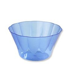 "Plastic Cup ""Royal"" for Cocktail Blue 400ml (30 Units)"