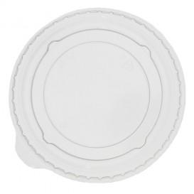 Plastic Lid PET Crystal Flat Ø9,5cm for PLA and PET Cups (100 Units)