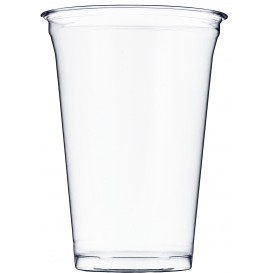 Plastic Cup PET Rigid 610ml Ø9,8cm (50 Units)
