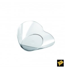 "Tasting Plastic Bowl PS ""Lovers"" Clear 30ml (25 Units)"