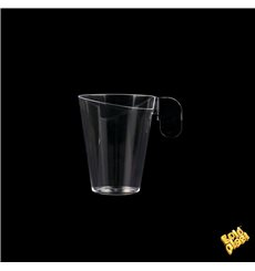 "Plastic Cup ""Design"" Clear 72ml"