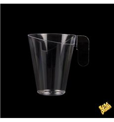 "Plastic Cup ""Design"" Clear 155ml"
