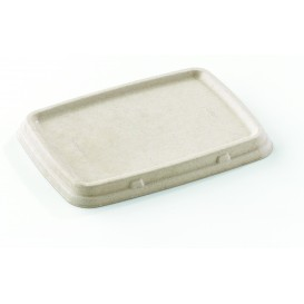 Sugarcane Lid for Container 23x16,5cm (75 Units)