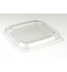 Plastic Lid PET Clear for Bowl 17x17cm (300 Units)
