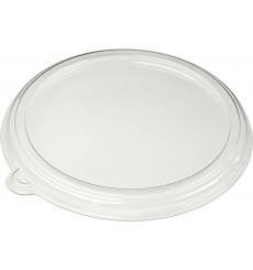 Tapa de Plastico Transparente para Bol 1000ml Ø21cm (75 uds)