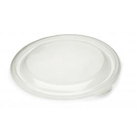 Plastic Lid PP Rigid Clear Ø13cm (50 Units)