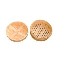 """Bamboo Steamer """"Maxi"""" Ø20x6cm (4 Units)"""