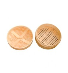 "Bamboo Lid for Steamer ""Maxi"" Ø20cm (4 Units)"