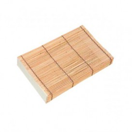 Bamboo Sushi Container 23x13x4,5cm (24 Units)