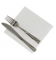 Paper Napkin White 1 Layer 33x33 (4.800 Units)