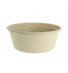 Sugarcane Bowl 500ml Ø15cm (125 Units)
