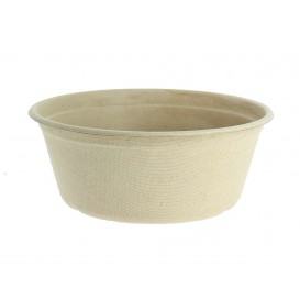 Sugarcane Bowl 500ml Ø15cm (500 Units)