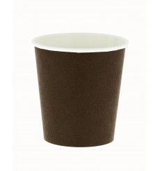 Paper Cup Eco-Friendly-Friendly Brown 6 Oz/180ml Ø7,0cm (100 Units)