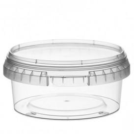 Plastic Deli Container with Plastic Lid PP Tamper-Evident 300 ml Ø11,8 (374 Units)