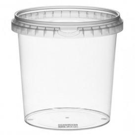 Plastic Deli Container with Plastic Lid PP Tamper-Evident 1180 ml Ø13,3 (180 Units)