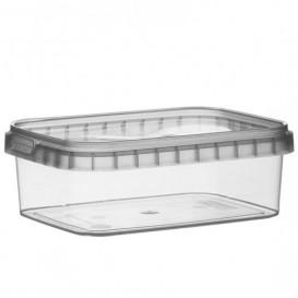 Plastic Deli Container and Plastic Lid PP Tamper-Evident 280ml 12,0x0,88cm (24 Units)
