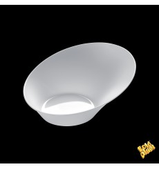 "Tasting Plastic Bowl PS ""Sodo"" White 50 ml (500 Units)"